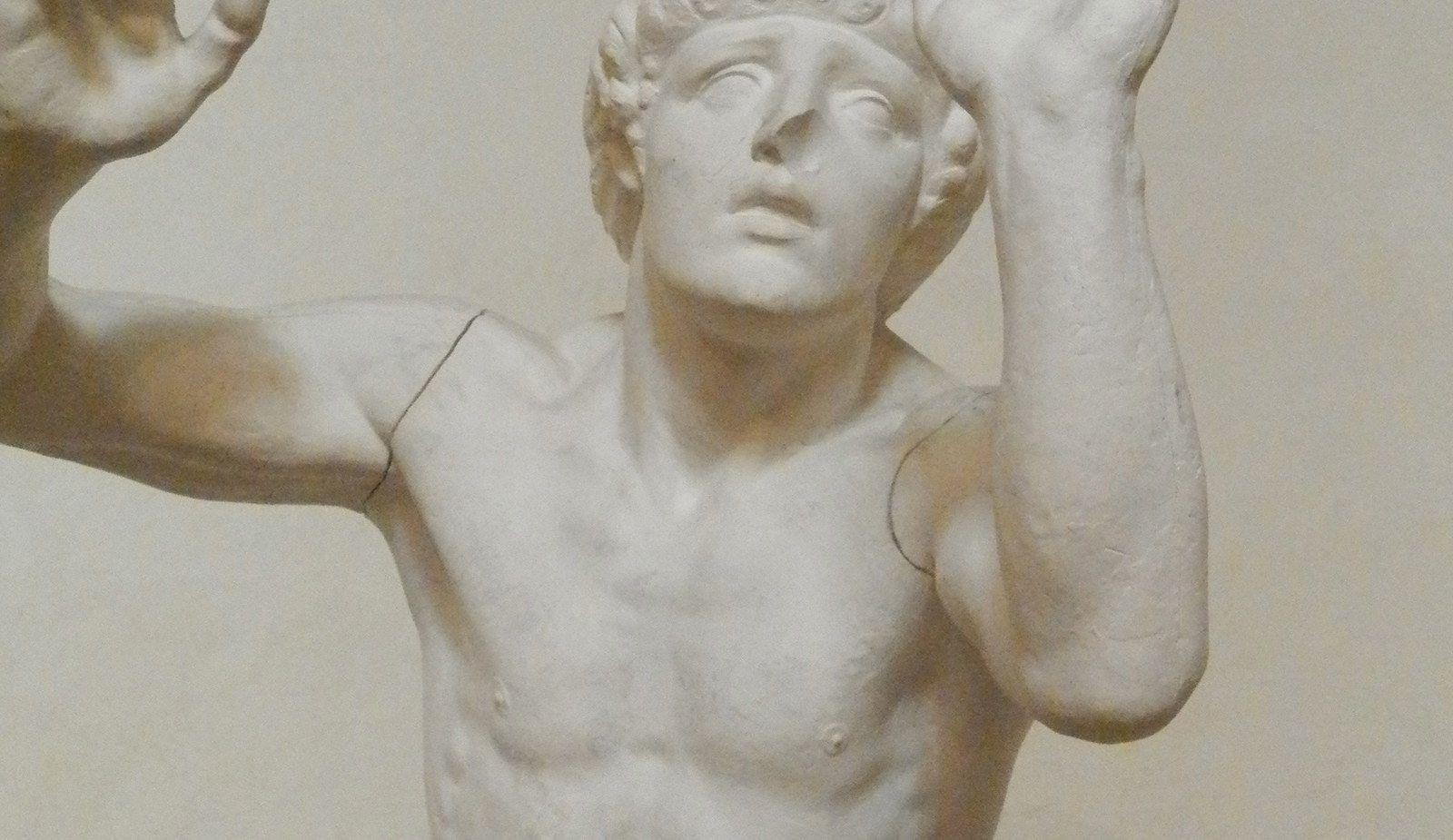 Étude de sculpture platre