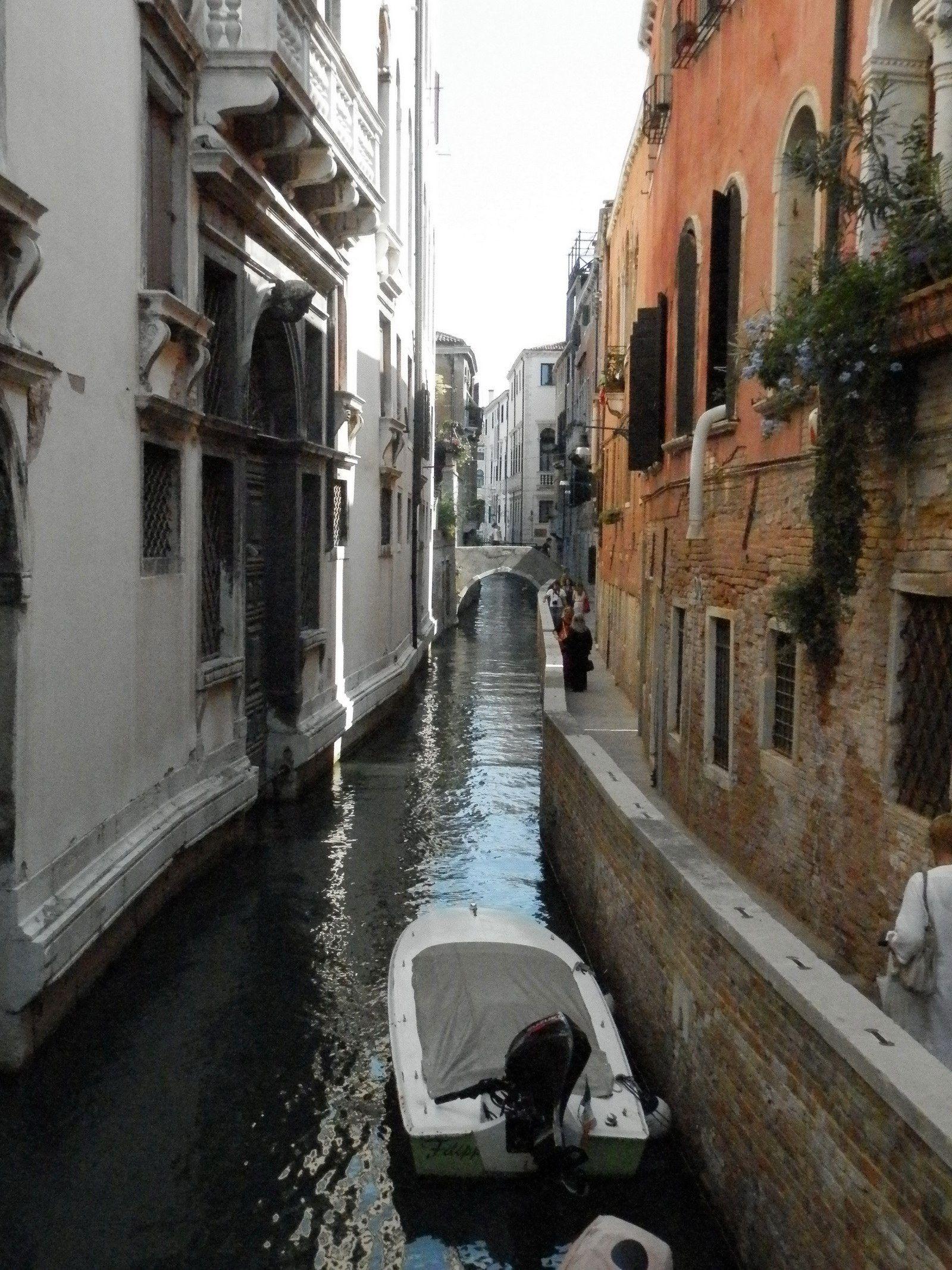 La Venise tranquille loin du Grand Canal