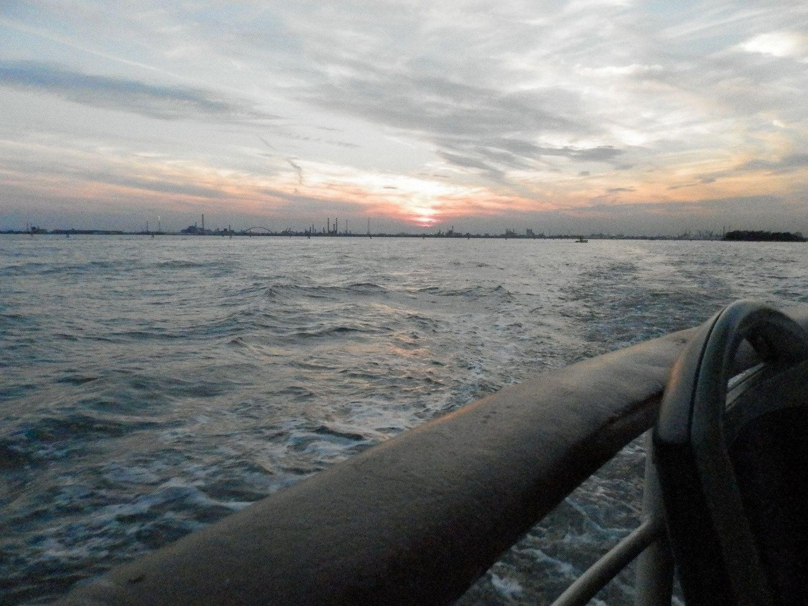 Coucher de soleil à Venise