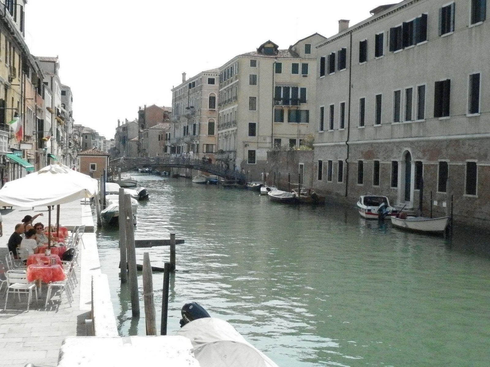 Campari terrasse à Venise