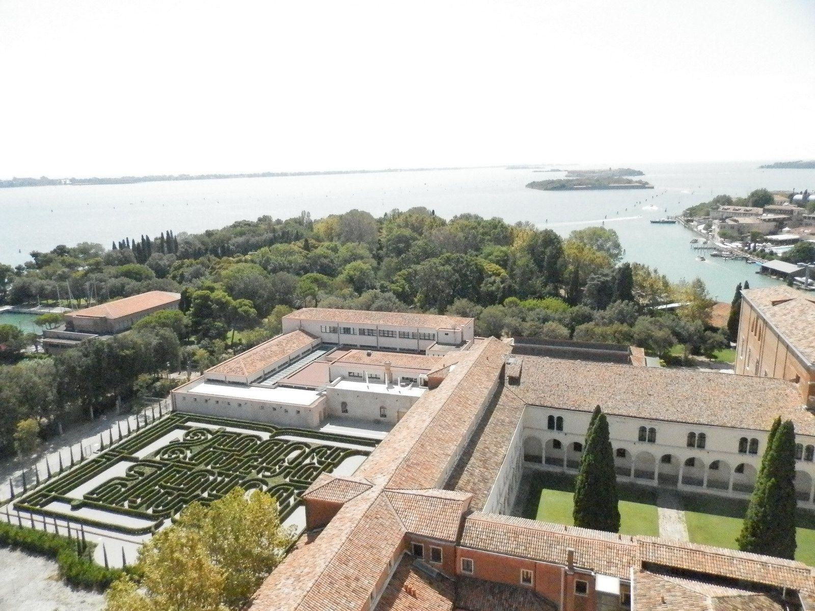 Jardins de San Giorgio Maggiore de Venise